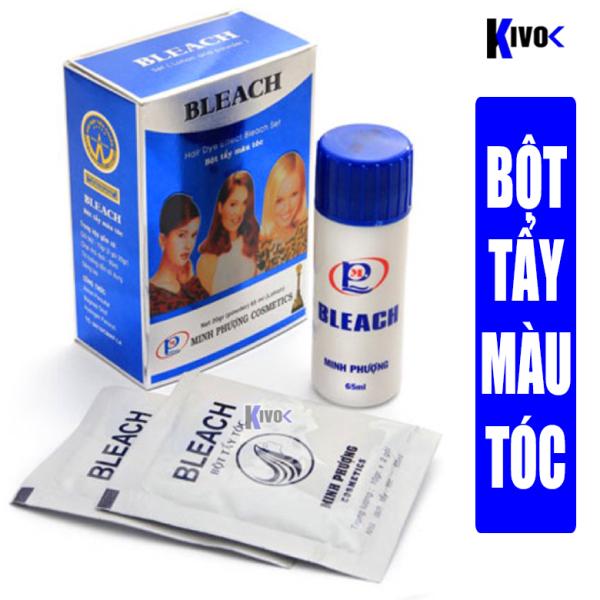 Bột Tẩy Tóc Màu Minh Phượng Bleach 20g - Tẩy Tóc Nhuộm Tóc Highlight Tại Nhà - Kivo cao cấp