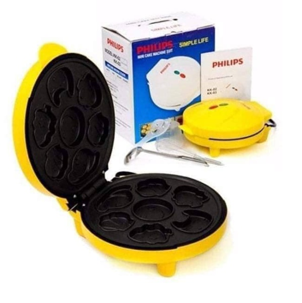 Máy nướng làm bánh 7 khuôn hình thú ngộ nghĩnh. tiện lợi, tiết kiệm điện năng. an toàn dễ sử dụng