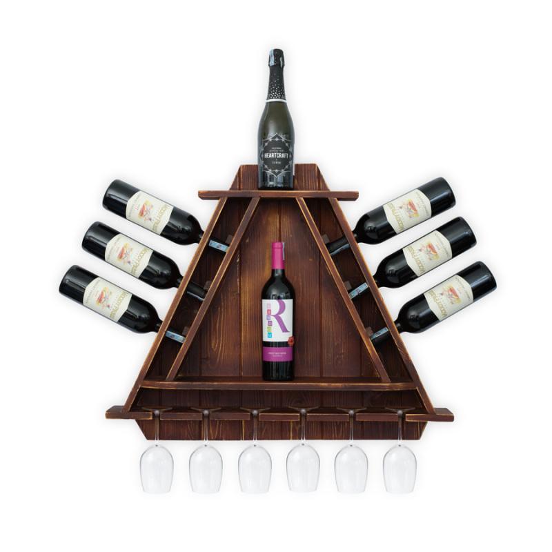 Kệ Rượu Treo Tường KR24