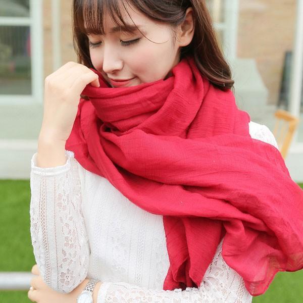 Khăn choàng H&M phong cách Hàn Quốc cho chị em phụ nữ (Màu ngẫu nhiên)