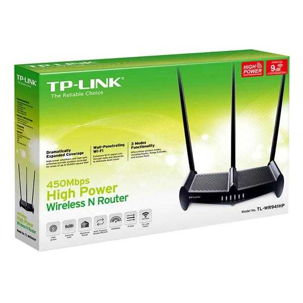 Bảng giá TP-Link TL-WR941HP - Bộ Phát Wifi Công Suất Cao 450Mbps Phong Vũ
