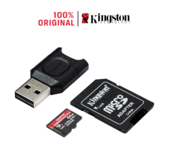 Thẻ nhớ tốc độ cao Micro SDXC Kingston Canvas React Plus V90 U3 UHS-II 128GB 285MB/165MB