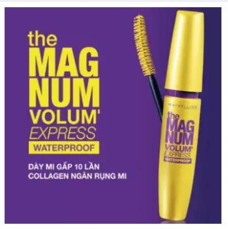Mascara Maybelline Magnum 9.2ml, Làm Dày Mi Gấp 10 Lần & Ngăn Rụng Mi - Laha-Shop cao cấp