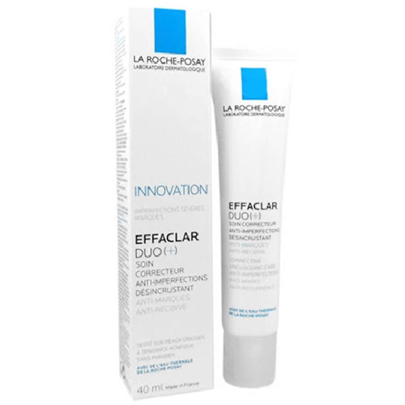 [HCM]Kem Chấm Mụn La Roche Posay Effaclar Duo+40ml giá rẻ