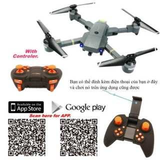 Flycam, Flycam điều khiển Giá Rẻ Flycam XT-1 Động cơ mạnh mẽ camera, Flycam XT1 Wifi 720P Camera Thiết Kế Cánh Gập Phiên Bản 2021- Sản Phẩm Giá Tốt, Chất Lượng Vượt Trội thumbnail