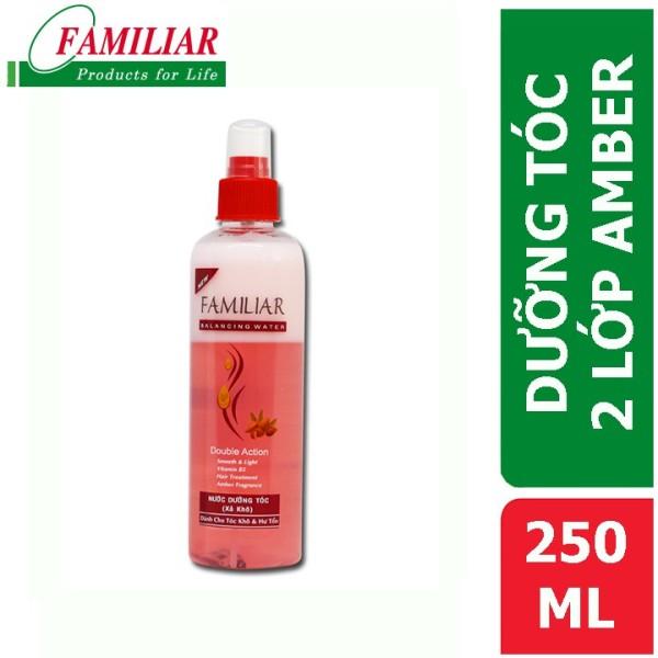 Nước Dưỡng Tóc Familiar 2 Lớp Hồng Amber 250Ml giá rẻ