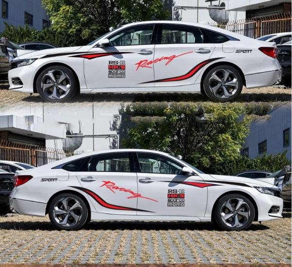 Tem xe ô tô cao cấp phong cách thể thao TS010