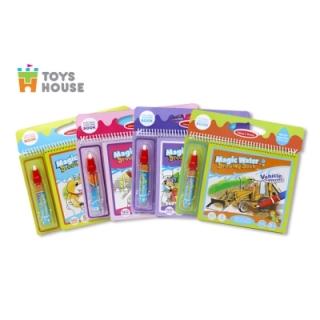 Sách tô màu bút nước thần kỳ Toys House size nhỏ thumbnail