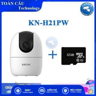 [100% CHÍNH HÃNG] Camera IP WIFI 360 KN-H21PW KBONE KBVISION - Camera Toàn Cầu thumbnail