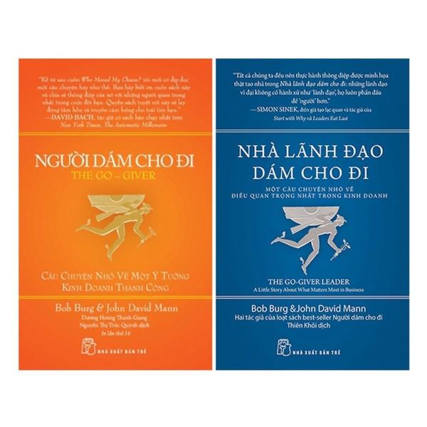 Sách - Combo 2 Cuốn Người Dám Cho Đi & Nhà Lãnh Đạo Dám Cho Đi