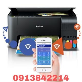 [HCM]Máy in phun màu Epson L3150 - Print Copy Scan Wifi không dây thumbnail