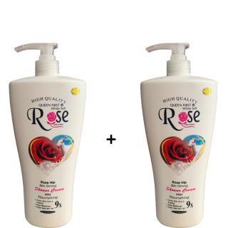 [ Combo 2 chai ] Sữa Tắm Dê Rose 9 x Cao Cấp thumbnail