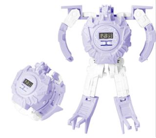 Đồng hồ trẻ em robot biến hình siêu nhân nhiều màu sắc đa dạng mẫu mã thích hợp với bé trai thumbnail
