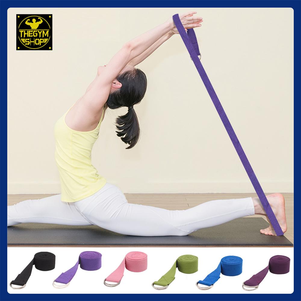 Dây đai Tập Yoga Cotton Dài 1,8m Bất Ngờ Giảm Giá