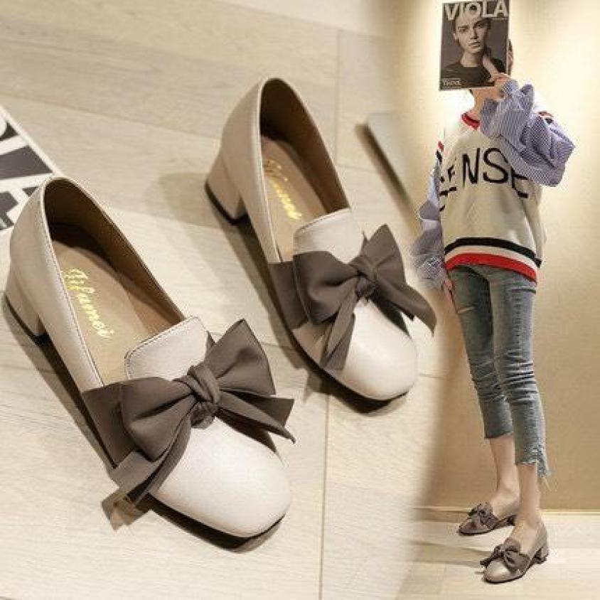 Giày Nữ NƠ LỤA Phong Cách Hàn Quốc ( Mã A5 ) giá rẻ