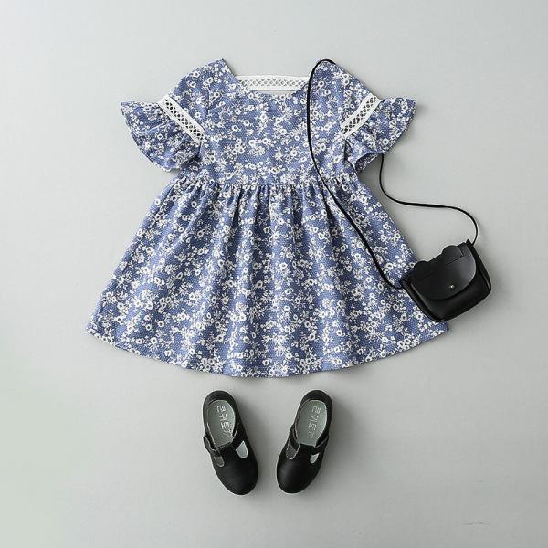 Giá bán [HÀNG CAO CẤP] Váy thiết kế công chúa nhỏ cực kì đáng yêu dành cho bé mùa xuân hè 2020