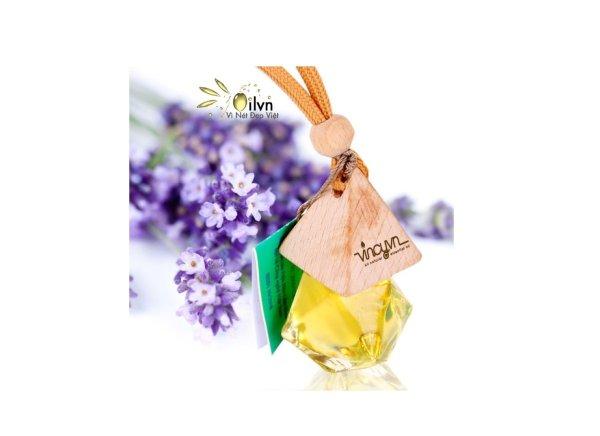 Tinh dầu treo xe hương Oải Hương (Lavender) - Hơn cả sự đẳng cấp!