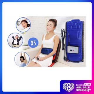 Đai massage giảm mỡ bụng, Đai massage tan mỡ bụng, Đai Massage Giảm eo toàn thân X5 giúp bụng phẳng, eo thon, giảm mỡ tích tụ trong cơ thể thumbnail