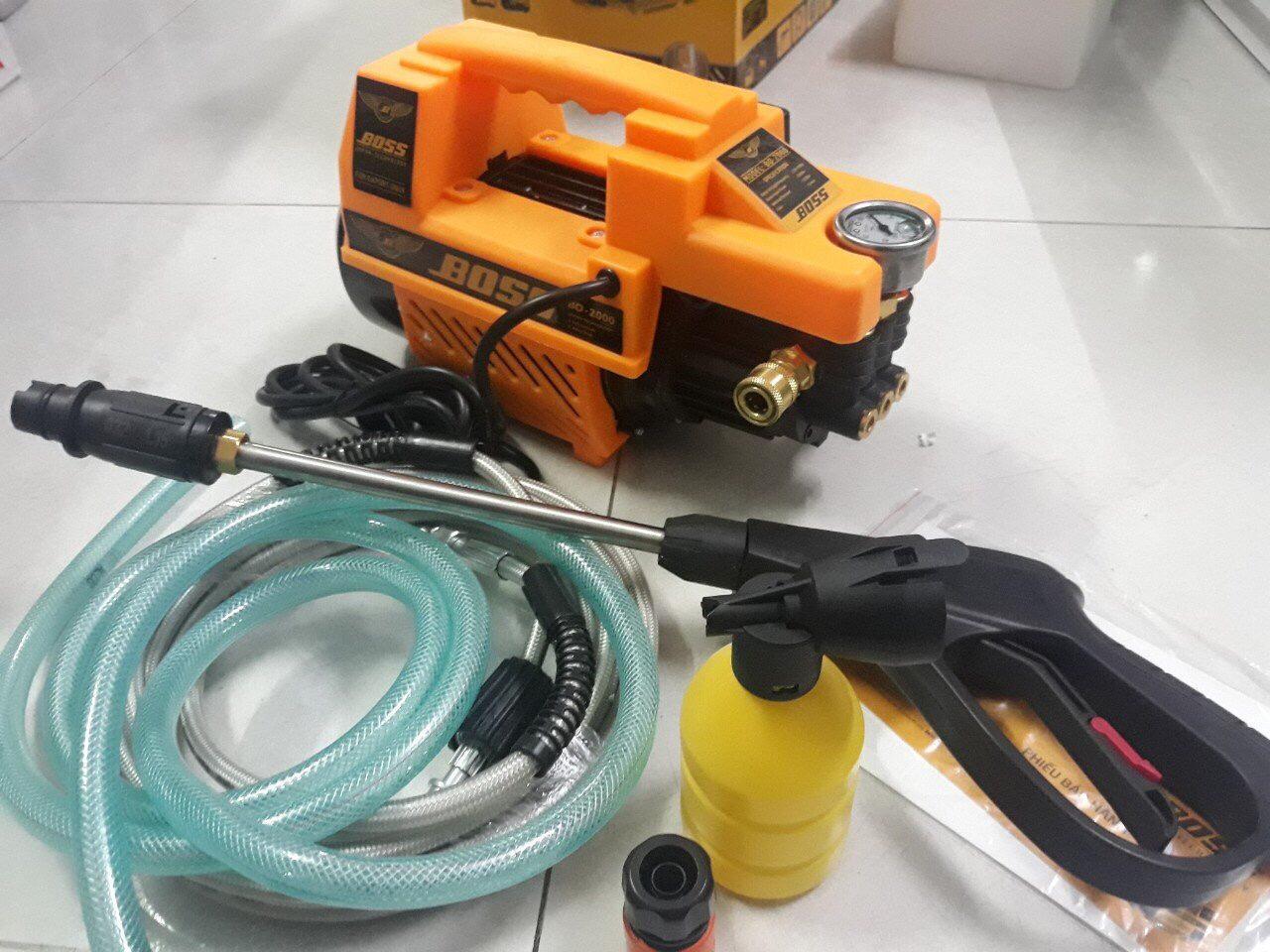 Máy rửa xe áp lực cao BOSS - 2000W Nhật Bản