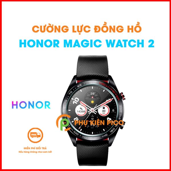 Kính cường lực Magic Watch 2 trong suốt - Dán màn hình đồng hồ Honor Magic Watch 2 full keo chống xước màn hình