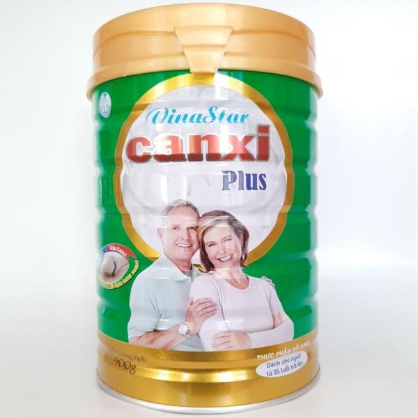 (giá sỉ) Sữa người già Vinastar StarMilk Canxi 900g ngừa loãng xương, tiểu đường giá rẻ