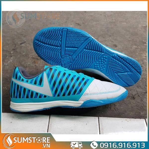 Giày Thể Thao Đá Banh Winbro Xanh Ya Đế Bằng - Giày Futsal Đẹp Và Bền