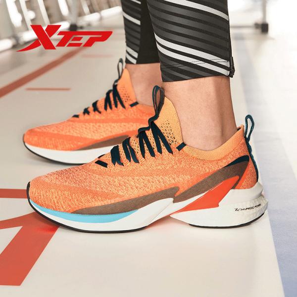 [Tặng Áo Thun] Xtep Giày chạy bộ Nam Sneaker Racing Speed 980319110909