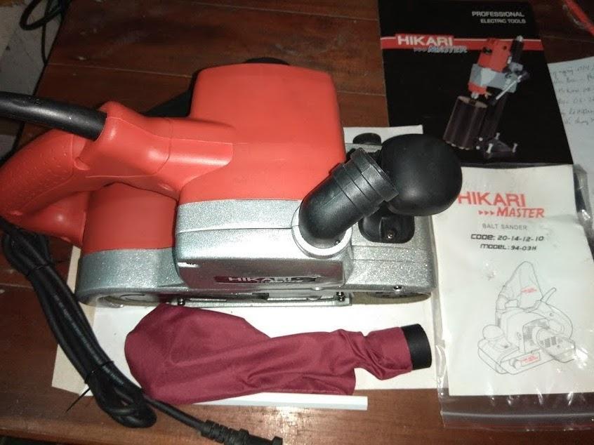 Máy chà nháp lô 09-43H Hikari Thái lan màu đỏ tươi