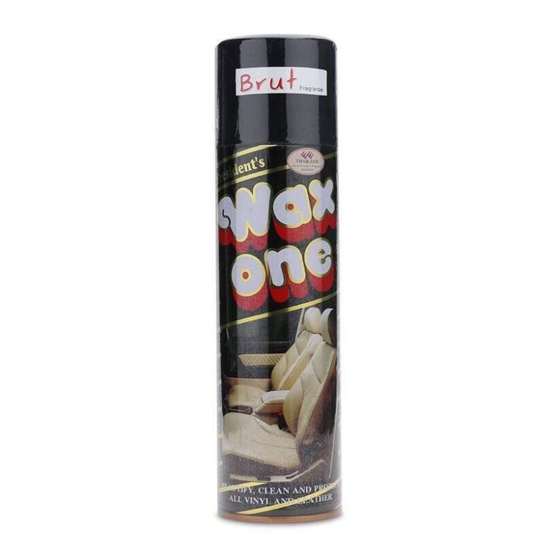 Chai xịt đánh bóng da cao cấp Wax One 450ml - Thailand