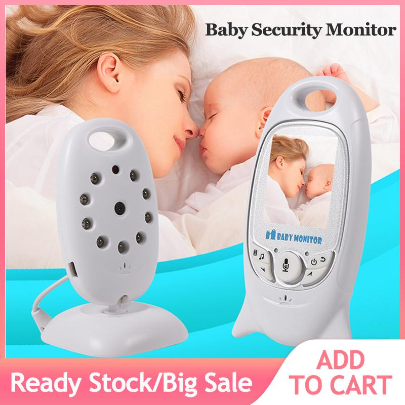 Wireless Security Camera Indoor Baby Monitor Video Night Vision Household UK Plug - intl