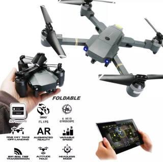 Flycam mini, Flycam giá rẻ, Flycam Xt-1 full HD 1080p. Động cơ mạnh mẽ, 4 cánh gấp gọn dễ dàng, kết nói Wi-fi 2.4. Chế độ nhào lộn 360 độ. Bảo hành uy tín. thumbnail