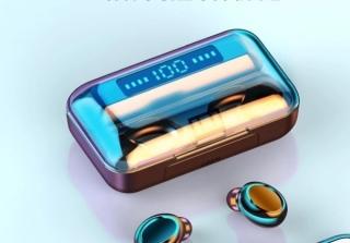 Tai Nghe không dây bluetooth F9 pro phiên bản cảm ứng màu đen thể thao thumbnail