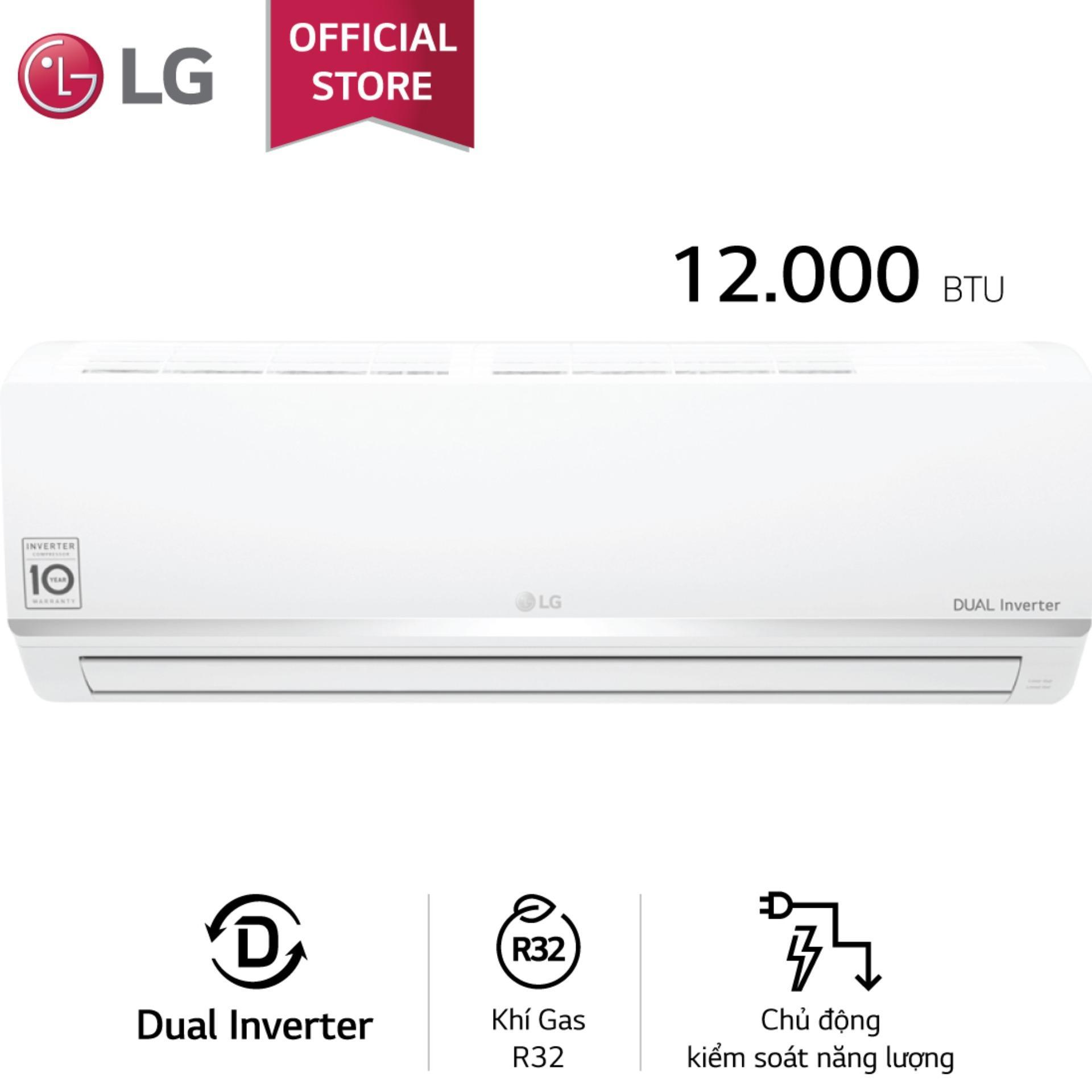 Máy lạnh Inverter LG V10ENW 1HP (Trắng)
