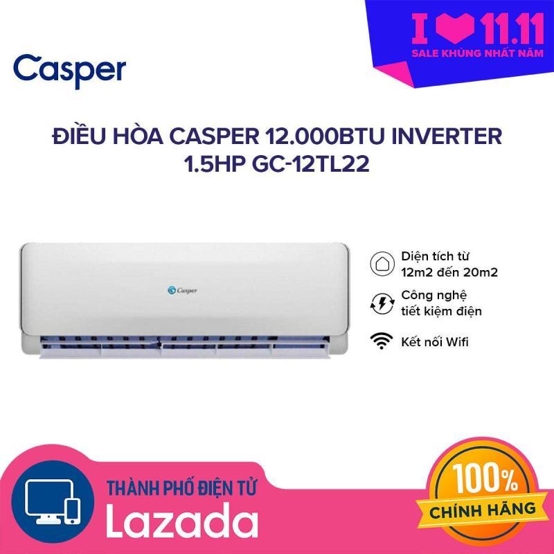 Bảng giá Máy lạnh Casper Inverter GC-12TL22 1.5HP (12.000 BTU) Điện máy Pico