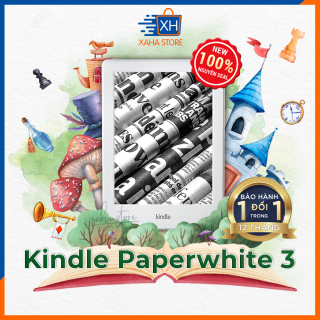 Máy đọc sách Kindle Paperwhite 3 - 7th Generation - Brand New (Kindle Paperwhite 3 e-reader, 7th generation and a shockproof bag) - TẶNG TÚI CHỐNG SỐC thumbnail