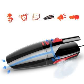 [Tặng túi đựng máy] Máy hút bụi cầm tay, máy hút bụi dùng cho cả xe hơi và nhà AIKESI, công suất 120W, chất liệu nhựa ABS, hút cực mạnh cực sạch, hút được cả ướt và khô - PK02 thumbnail