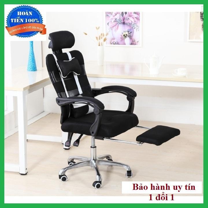 Ghế văn phòng, ngả lưng + duỗi chân, có bánh xe, Ghế giám đốc, ghế làm việc giá rẻ