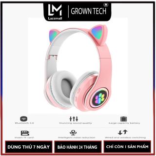 Tai nghe bluetooth chụp tai GROWNTECH B39 me o 5.0 cao cấp co micro mua ngay nhâ n Voucher 50.000 thumbnail