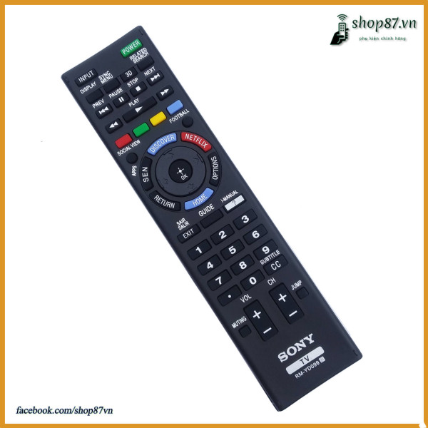 Remote điều khiển tivi Sony thay thế RM-GD033