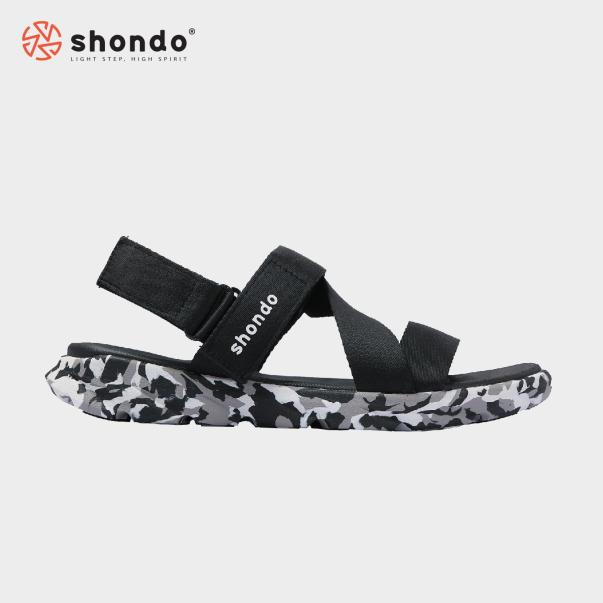 Giày Nam Sandals Shondo F6 Sport Camo F6S501 (Camo đen) giá rẻ