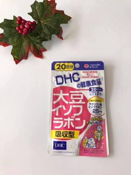 [Nội Địa Nhật] Viên uống DHC Tinh Chất Mầm Đậu Nành Isoflavone Nhật Bản 40 Viên (20 Ngày) giá rẻ