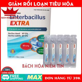 Men Tiêu Hóa Cho Bé bổ sung 2 tỷ lợi khuẩn, giảm rối loạn tiêu hóa Enterbacillus - Hộp 20 ống thumbnail