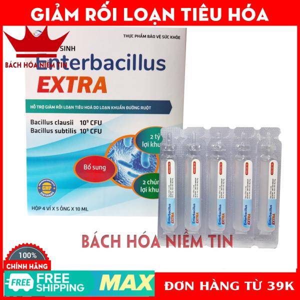 Men Tiêu Hóa Cho Bé bổ sung 2 tỷ lợi khuẩn, giảm rối loạn tiêu hóa Enterbacillus - Hộp 20 ống