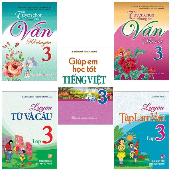 Mua Sách: Combo Tiếng Việt Toàn Diện Lớp 3 (5 Cuốn)