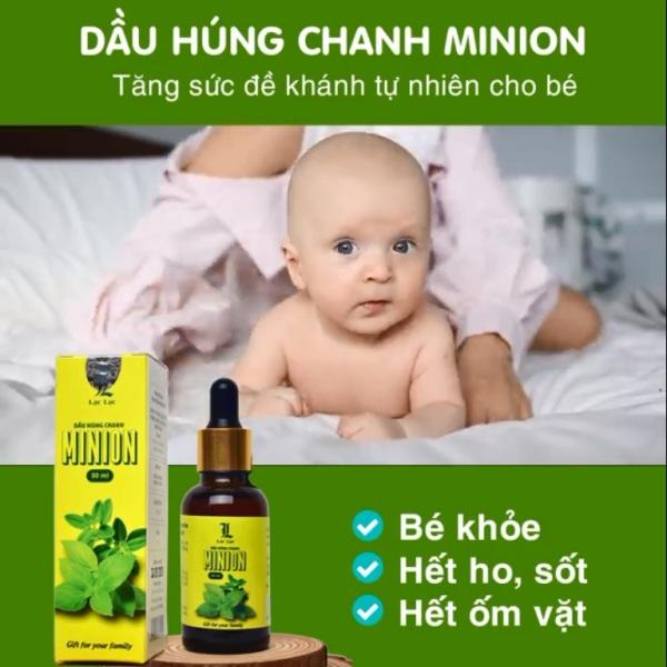 (Free.ship) Tinh dầu húng chanh Minion 30ml nhập khẩu