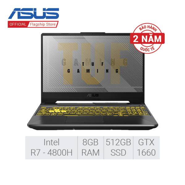 [Trả góp 0%] [SUPER SALE 21.09] Laptop Gaming Asus TUF FA506IU-AL127T (AMD R7-4800H/GTX1660Ti 6G/8GB RAM/512G SSD/15-inch FHD/WIN 10)