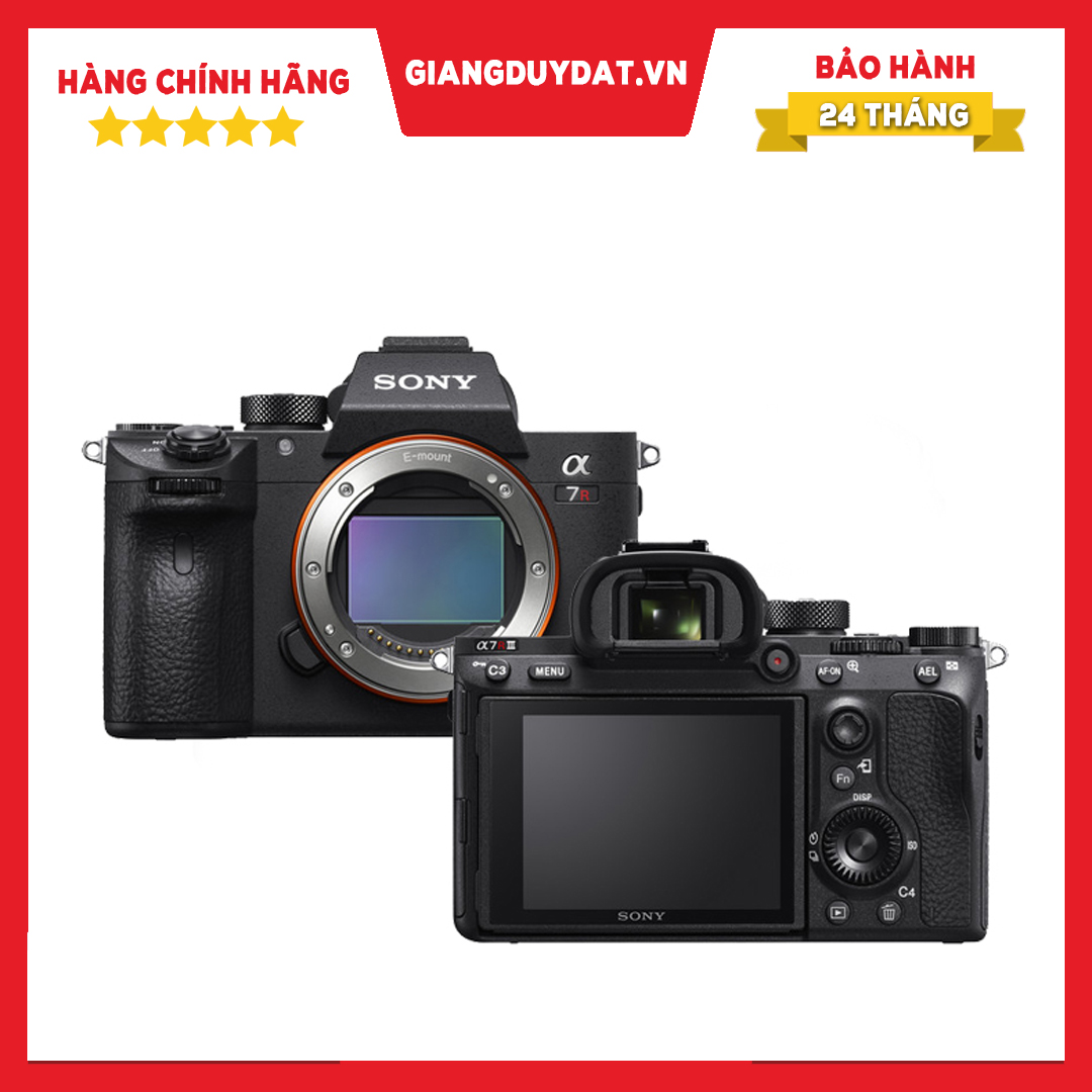 Máy Ảnh Sony Alpha A7R Mark III Body - Chính Hãng Sony Việt Nam