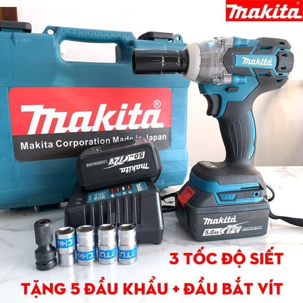 Giá bán Máy Siết Bulong MAKITA 72V  – Máy Siết Bu Lông, Khoan Pin - Bắn Vít Ko Chổi Than