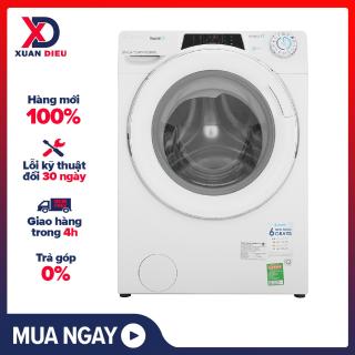 Máy giặt Candy Inverter 10 kg RO 16106DWHC7 1-S Điều khiển bằng điện thoại qua sóng Wifi ,Hẹn giờ giặt ,13 Chương trình hoạt động - giao hàng miễn phí HCM thumbnail