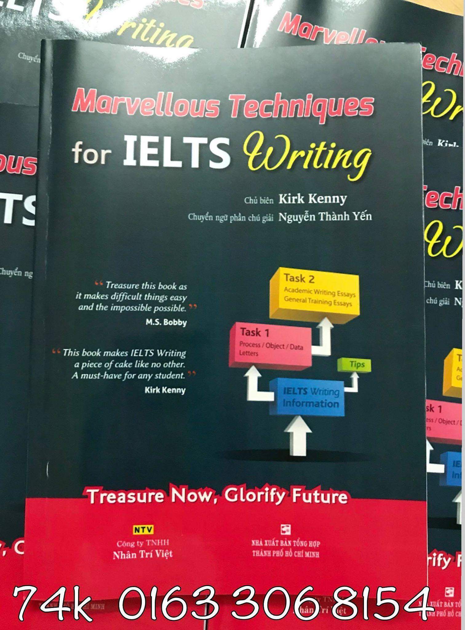 Marvellous Techniques For Ielts Writing Giá Ưu Đãi Nhất